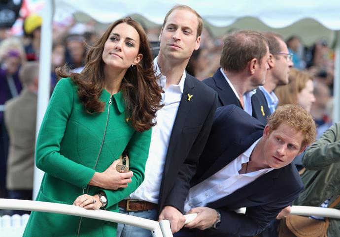 At the 2014 Tour de France, the golden trio, AKA Kate, Wills and Harry watched on with intrigue.