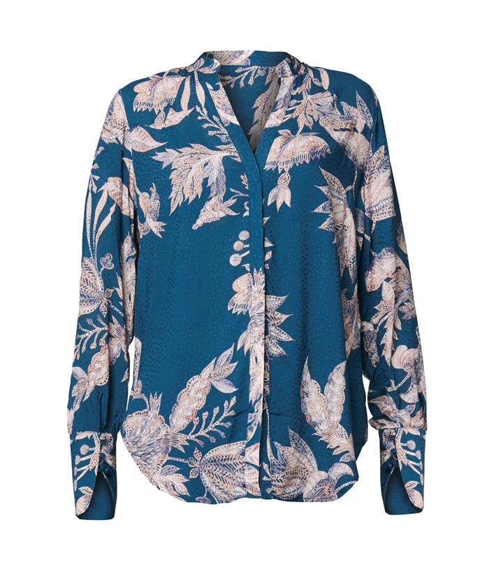 """**Once Was blouse, $249.95** <br><br> Your mum will want to live in this lovely blouse and a pair of comfy jeans! <br><br> Check it out [here](https://oncewas.com.au/products/ow2906mf?variant=32044915851357
