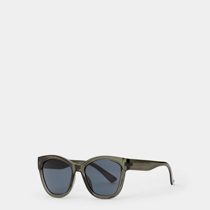 """**Sussan sunglasses, $39.95** <br><br> Mum will be looking and keeping cool in these shades. <br><br> Check out these and many other great styles [here](https://www.sussan.com.au/accessories/rebeka-emerald-sunglasses-emerald-all