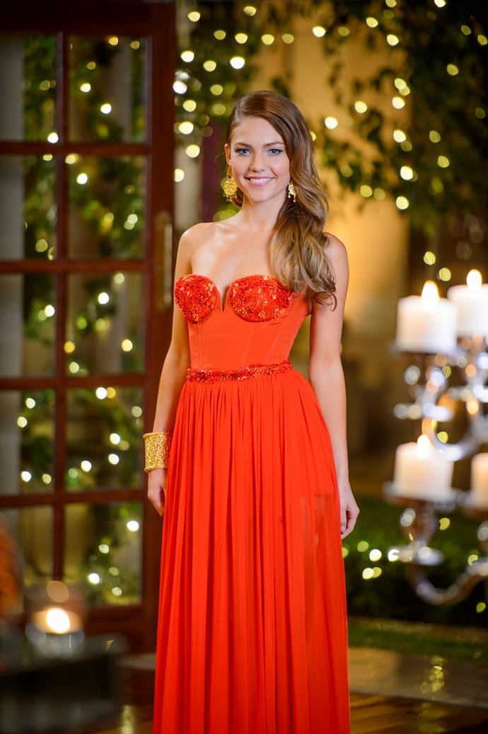 Sam Frost came in red hot as Australia's first Bachelorette - Blake Garvey who?