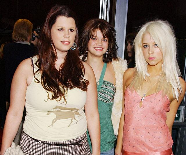 The Geldof girls were regular fixtures on the A-list London social scene.