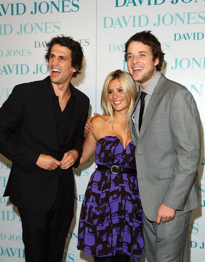 Andy, Anna and Hamish having a laugh at a fashion launch in 2008.