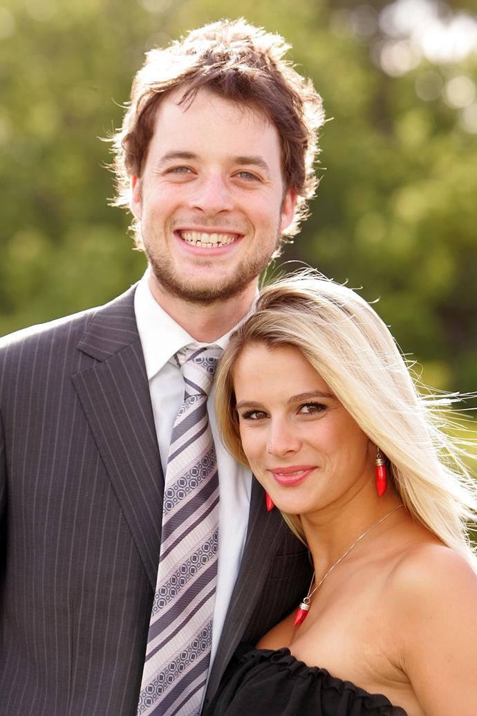 Hamish and his ex-girlfriend, Aussie actress Anna Jennings-Edquist. The pair dated in 2007.