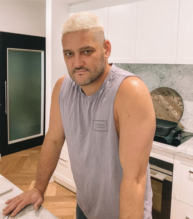 **NOW** <br><br> Brendan may not have a lot to work with given his shaved head, but that didn't stop him from dramatic isolation makeover. The AFL player turned radio host bleached his brown do to go an icy blonde, and honestly we're into it.