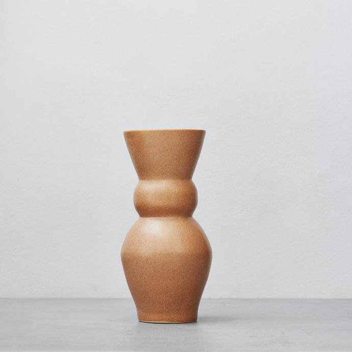 """**Marloe Marloe vase, $220** <br><br> Take mum on a Mediterranean journey with this handmade Tericotta sculptured vessel produced from the highest quality Australian stoneware. <br><br> See this and their other designs [here](https://marloemarloe.com/collections/shop-all/products/lucie-terracotta