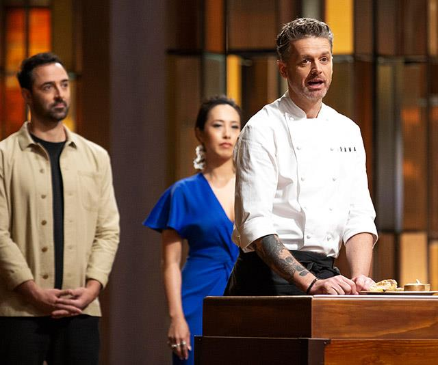 Jock with his fellow MasterChef judges Melissa Yeong and Andy Lee.