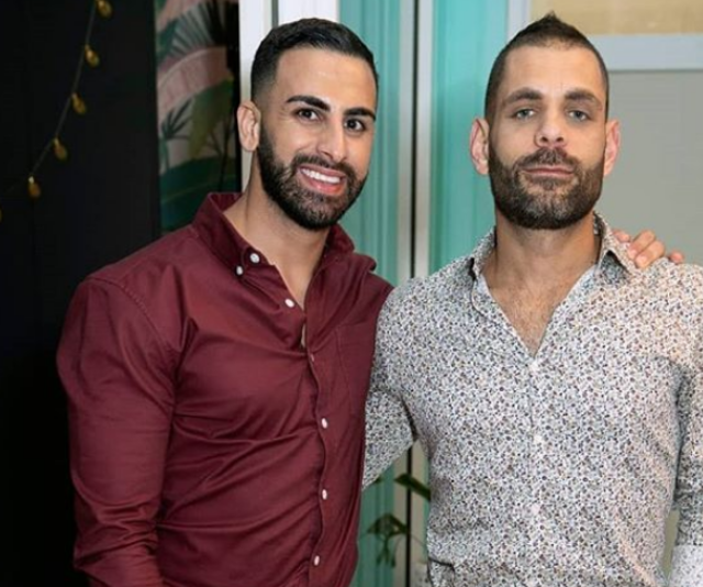 Laith and George have been friends for more than a decade.