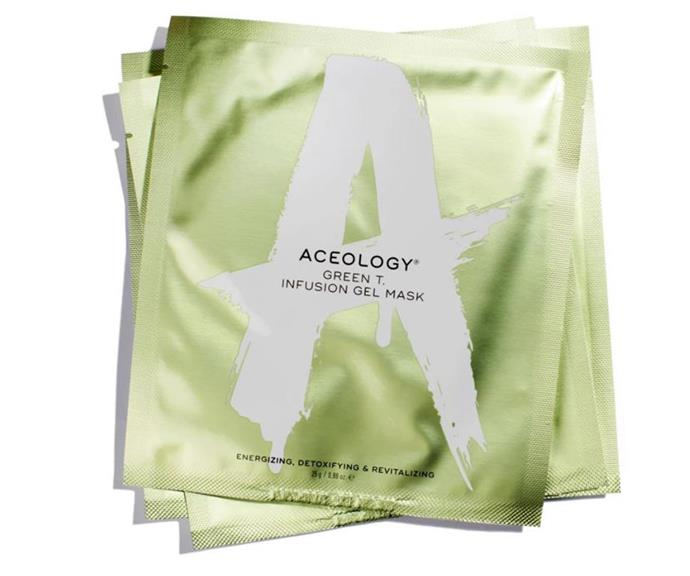 We also love Aceology's Green T masks.