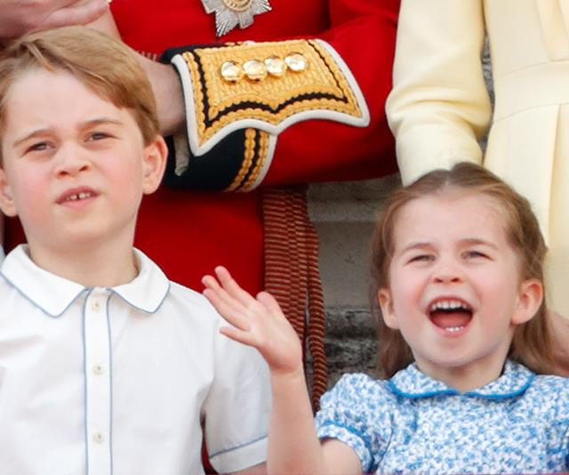 The Young Cambridges have been working hard from home while their family self-isolates at their country home.