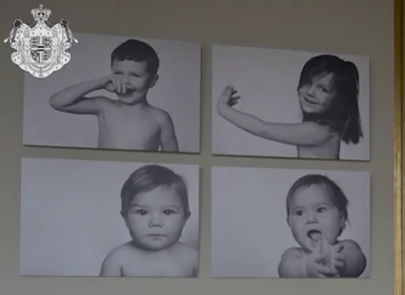 How incredible are these beautiful pictures of Mary's four children?