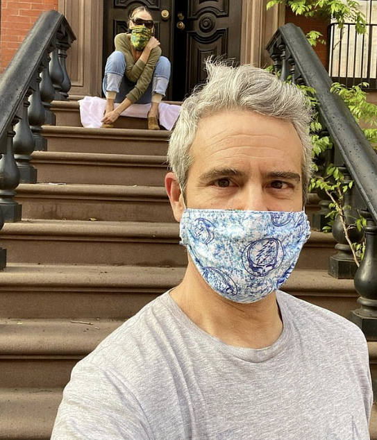 "US TV personality Andy Cohen visited none other than Sarah Jessica Parker in NYC on Monday, comically sharing a snap captioned:  ""We're ready! #MetGala."""