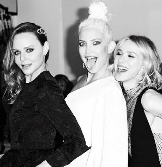Aussie darling Naomi Watts shared a candid, memorable outtake from the Met Gala alongside pals and famous faces Kate Hudson and Stella McCartney.