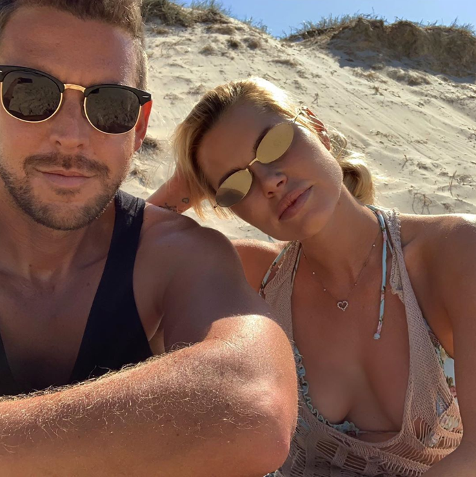 Sophie is loving being back in her hometown of the Gold Coast with her man after 10 years in LA.