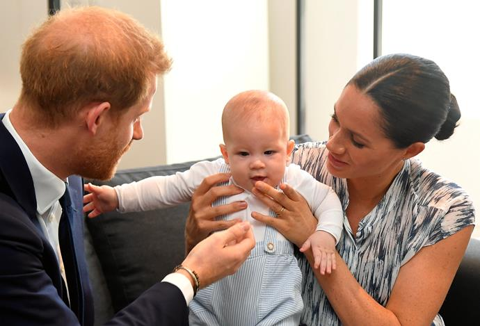 Baby Archie has single-handedly raised funds for charity being completely none the wiser.