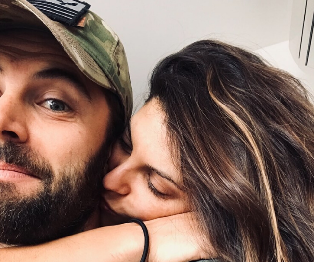 Zoe uploaded this sweet couple selfie in celebration of Daniel's 40th birthday recently.
