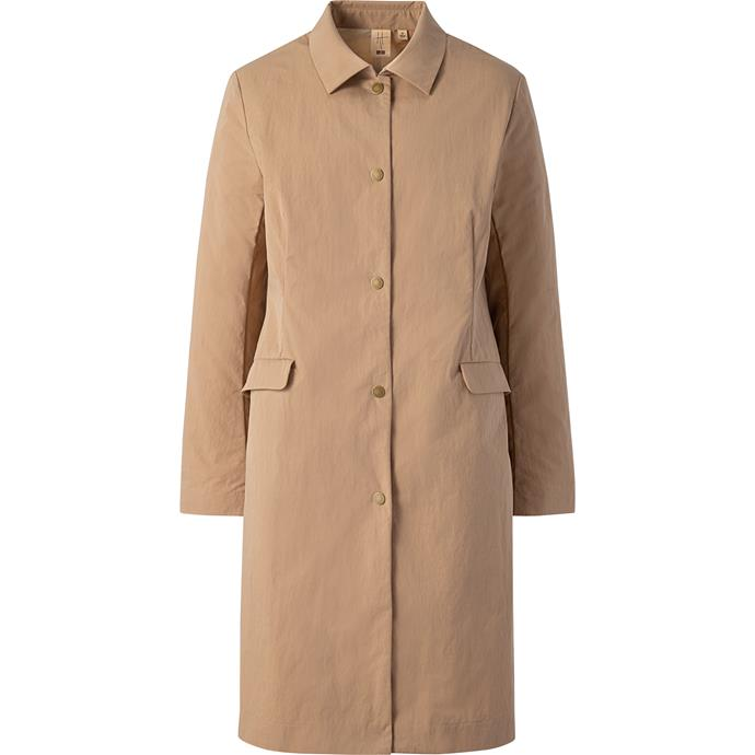 "**UNIQLO coat, $79.90** Find it online [here](https://www.uniqlo.com/au/store/women-hpj-hpj-coat-4205070009.html|target=""_blank"")."