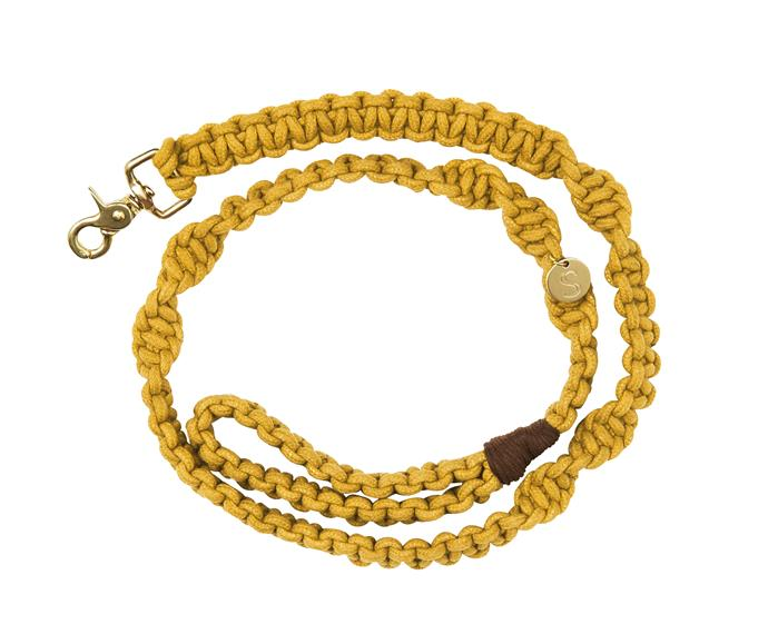 "**Sebastian Says macrame dog lead, $70** Match your pooch to their favourite colour [here](https://www.sebastiansays.com.au/collections/shop-all-new/products/macrame-dog-lead-mustard?variant=13510893207596|target=""_blank"")."