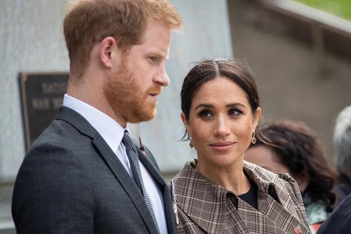 Harry and Meghan steadily withdrew from the public eye as the year went on.