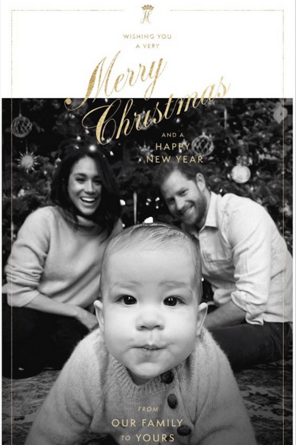 At Christmas time, Harry and Meghan released a GIF of their adorable young son gazing curiously into the camera as the proud parents smiled behind him. And thus, fans went into understandable meltdown.