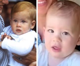 Who does Archie Harrison Mountbatten-Windsor look like?