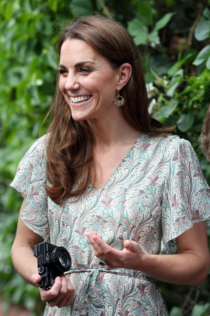 Duchess Catherine has had a longtime interest in photography.