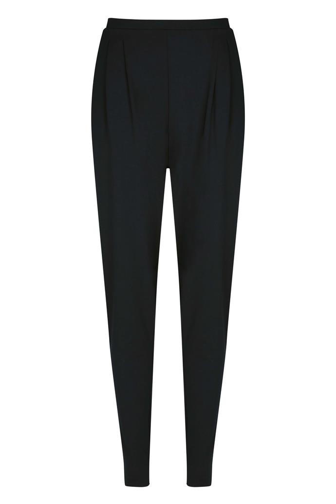 "**Intimo pleated pant, $179.50** Check if your size is available [here](https://www.intimo.com.au/ready-to-wear-pleated-pant-10-black_1079832/|target=""_blank""), before stocks last!"