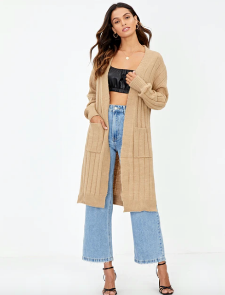 """If you're after something a little longer with a little length, this longline style from Glassons is guaranteed to keep you cosy to dressing-gown levels this winter. $49.99, [buy it online here](https://www.glassons.com/clothing/knitwear/knit-cardigans/ribbed-longline-cardi-KC44488RIB?c=SAND+CASTLE