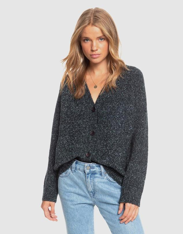 """Grandpa cardis are, and always will be relevant - and this Roxy style only convinces us of this further. $79.99, [buy it online via The Iconic here](https://www.theiconic.com.au/womens-be-bold-knit-grandpa-cardigan-1088669.html