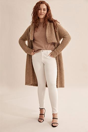 """If you're looking to splurge a little, Country Road is the way to go. Can we talk about how cosy their new fluffy longline knit looks?! Get it in our wardrobes STAT. $299, [buy it online here](https://www.countryroad.com.au/shop/woman/clothing/knitwear/60252030-290/Fluffy-Cardigan.html