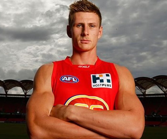 "**Daniel** <br><br>  You may recognise *Big Brother*'s second housemate for 2020 as former professional AFL player, Daniel Gorringe. <br><br>  The 27-year-old played for the Gold Coast Suns before being ""sacked"" and picked up by Carlton FC, only to be ""sacked again"".<br><br>   ""You've got to be able to get the ball, and I just couldn't get the ball. So I got sacked,"" he says.<br><br>"