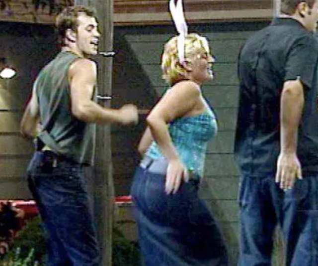 """**THE BUM DANCE**  <br><br>  With her infectious personality and bunny ears, [22-year-old Sara-Marie](https://www.nowtolove.com.au/celebrity/celeb-news/sara-marie-how-i-turned-my-life-around-22190