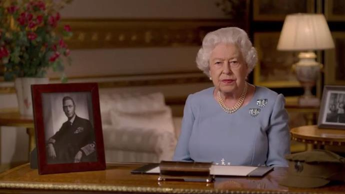 The Queen shared a stirring address to the nation to mark VE Day.