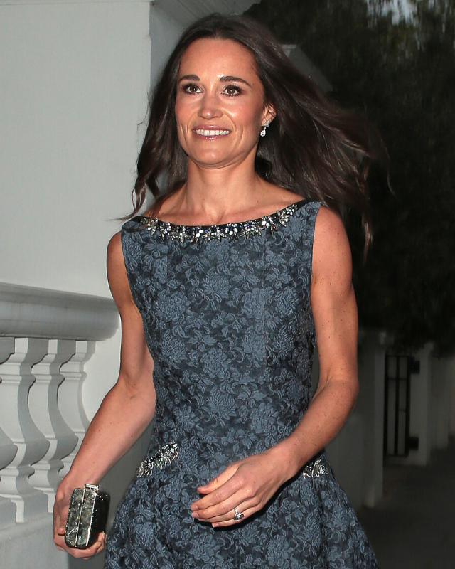 Pippa was photographer out and about in London just two weeks before her wedding day.