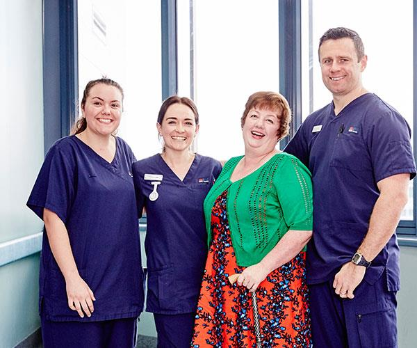 Louisa Hope credits the medical staff at POWH for saving her life.