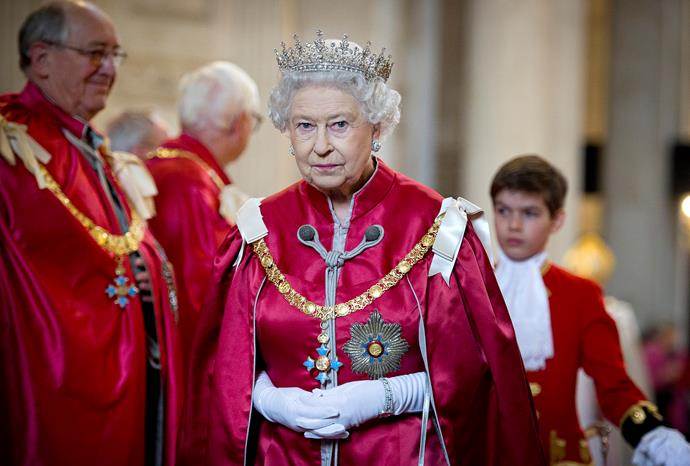 The Queen has seen and done a lot throughout her 68-year reign, but this might be the biggest of all.