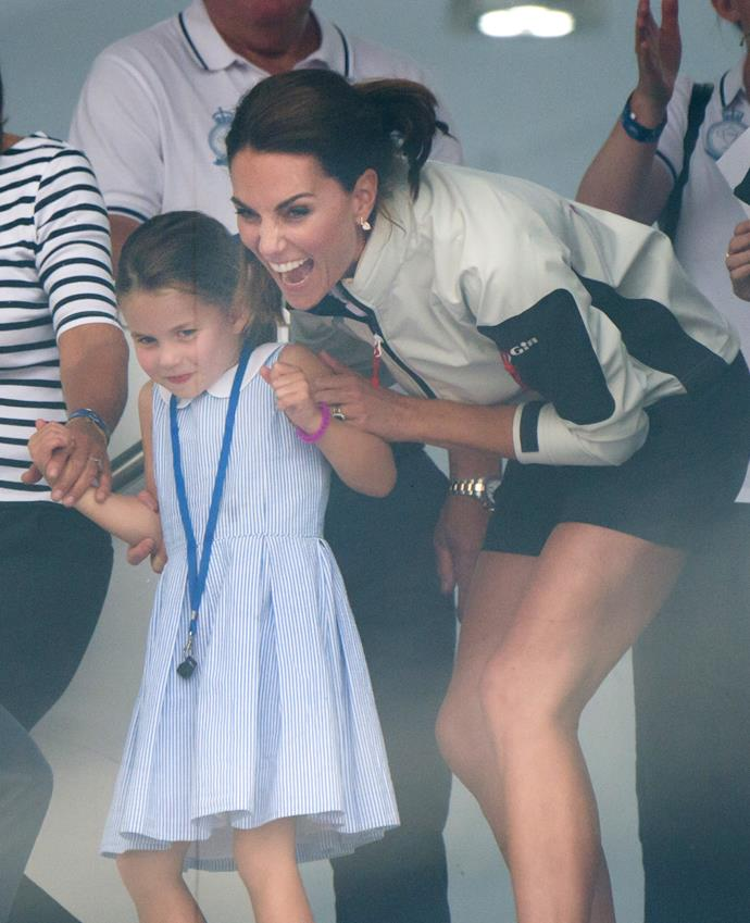 Princess Charlotte will likely return to physical classes before Prince George.