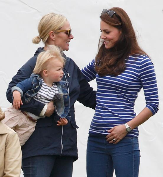 Duchess Catherine and Zara go way back - and their relationship has been made all the more special as they tackle parenthood together. They were pictured together at a charity polo match in 2015.