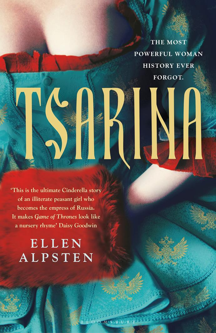**Great Read for June:** ***Tsarina* by Ellen Alpsten** <br> *Historical fiction* <br><br> Before Catherine the Great, there was Catherine I, the all-powerful Russian Empress who was catapulted from serfdom to the highest position in the land.  <br><br> Her story is shocking and in UK-based author Ellen Alpsten's intoxicating hands it's also a vicious, bloody, sexy romp. <br><br>  This is fearless historical fiction with a sharp contemporary frisson which offers a thought-provoking vision of the brutal, knife-edge lot of women at the time.