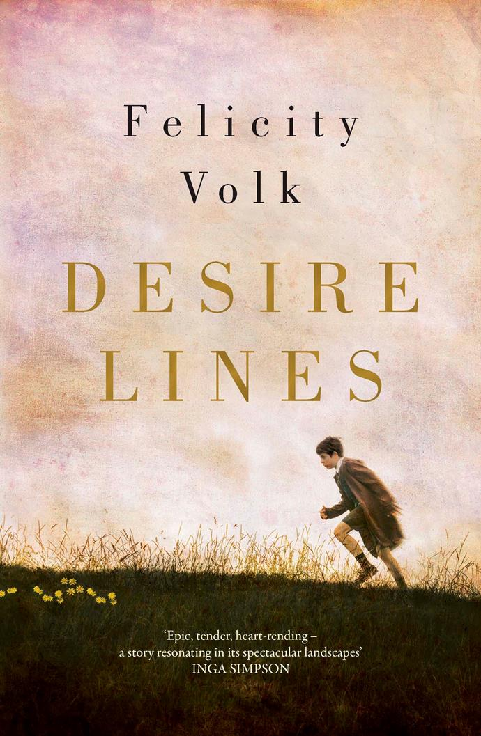 ***Desire Lines* by Felicity Volk** <br> *Romance* <br><br> Can true love conquer all? This is the question at the heart of Australian author Felicity Volk's deeply affecting debut novel, and the answer is complex and devastating.  <br><br> Set over five decades from 1952 and told in alternating narratives, we piece together the stories of Paddy and Evie.  <br><br> Paddy O'Connor's childhood is shocking, and that underlying trauma contaminates everything in his adult life.  <br><br> Evie is raised in secure middle-class Canberra and follows her passion to become a famous landscaper.
