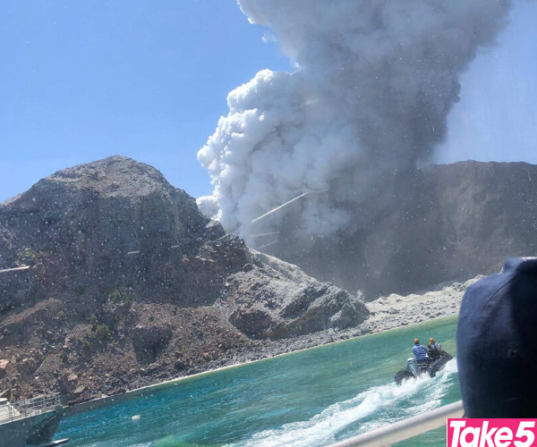 Seeing the island blow was terrifying.