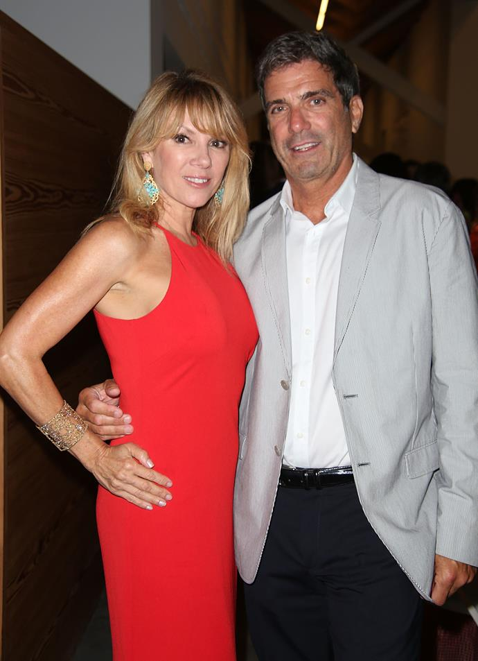 **RAMONA AND MARIO SINGER** <br><br> The *Real Housewives of New York City* star and her ex-husband are isolating together with their daughter Avery in Florida.