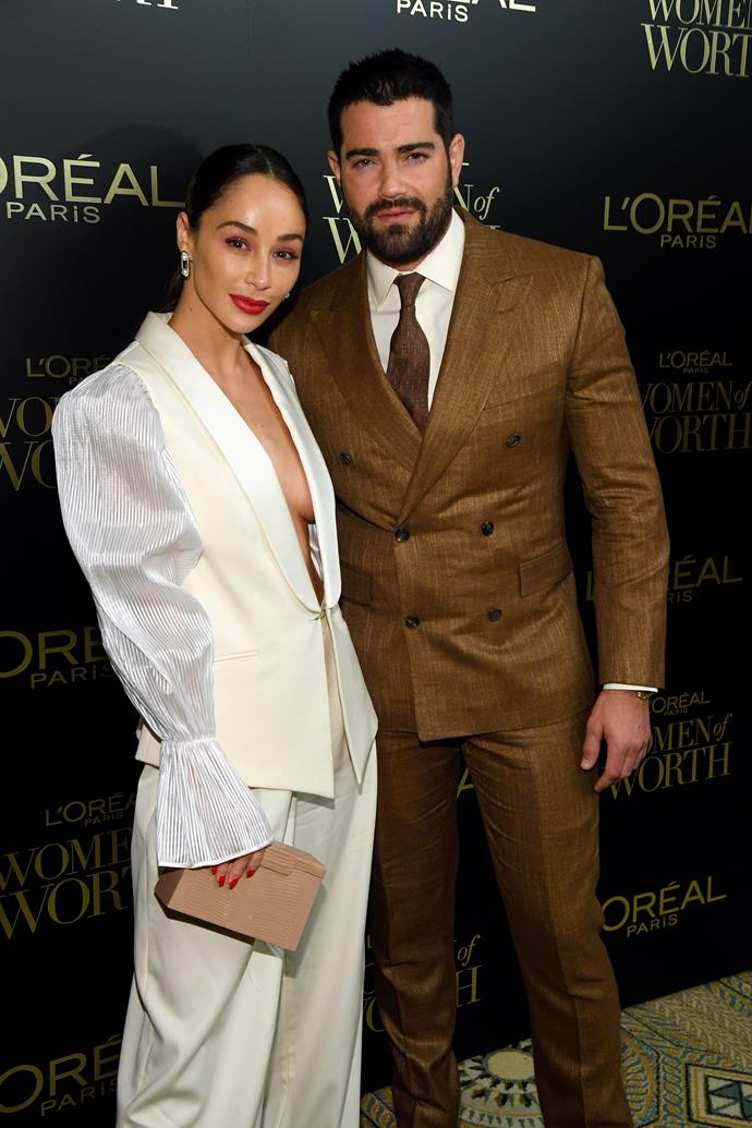 **JESSE METCALFE AND CARA SANTANA** <br><br> Rememeber this guy from *Desperate Housewives*? The hot dude who had a fling with Eva Longoria? Well IRL, he's isolating with his ex-wife Cara. The pair split after 13 years together in January, after he was photographed with two other women.
