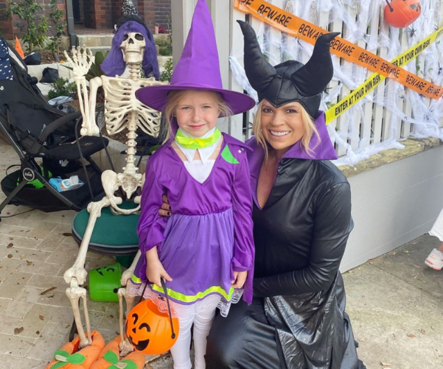 Trick or treat? We think Maggie and Sonia's Halloween outfits are super sweet.