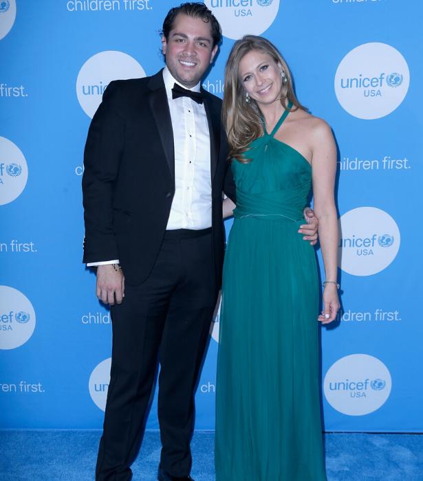 Princess Tatiana Sierra and husband, Galitzine Guillermo at the fourth annual UNICEF Audrey Hepburn Society Ball
