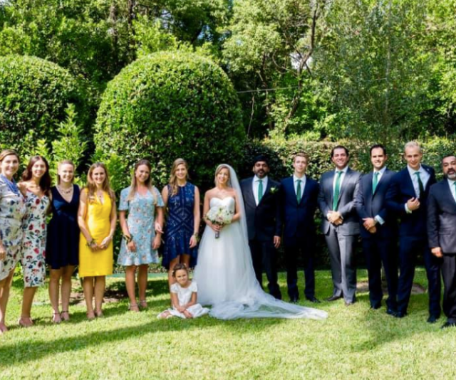 Maria wed her now husband, Rishi in 2017.