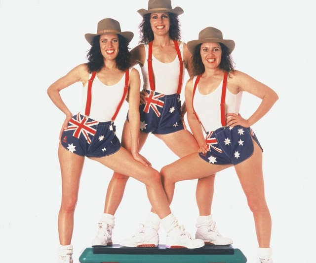 The trio found fame in the 80s as aerobics icons.