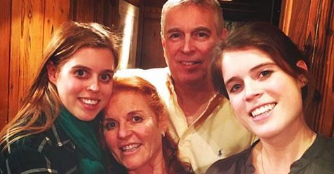 Sarah Ferguson shares rare, never-before-seen family photo featuring Prince Andrew