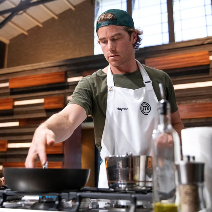 *MasterChef* viewers bid farewell to fan favourite **Hayden Quinn**, after his dish failed to shine a light on the hero combination of beetroot and horseradish.