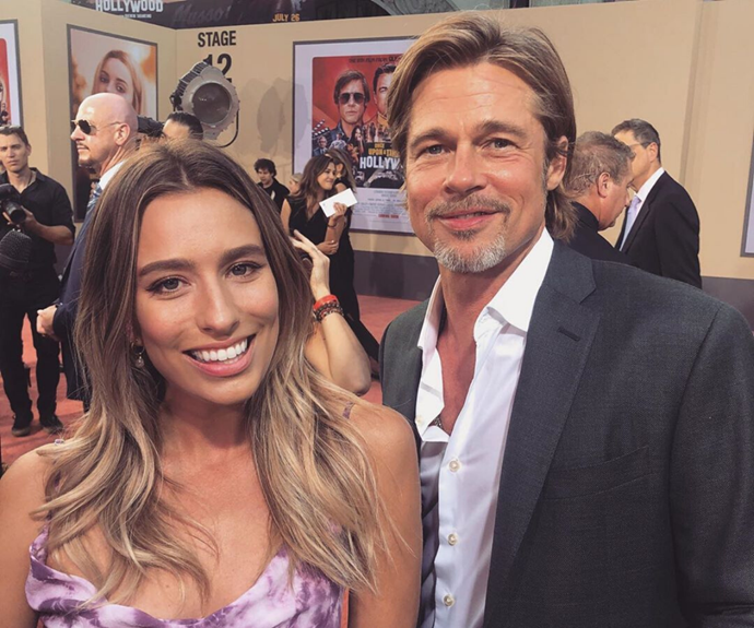 Renee interviewed Brad Pitt during the awards show circuit in LA earlier this year.