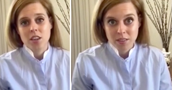 Princess Beatrice's crisp, chic shirt in rare home video is our winter workwear inspiration